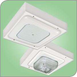 LSI Legacy CRU/CRUS Surface Mount LED fixture