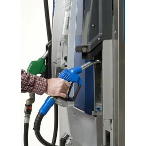 Customer at Gilbarco Encore Dispenser